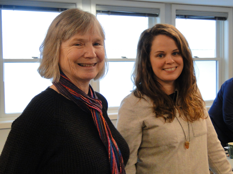 Debbie and Sam of the Integrated Program Working Group.
