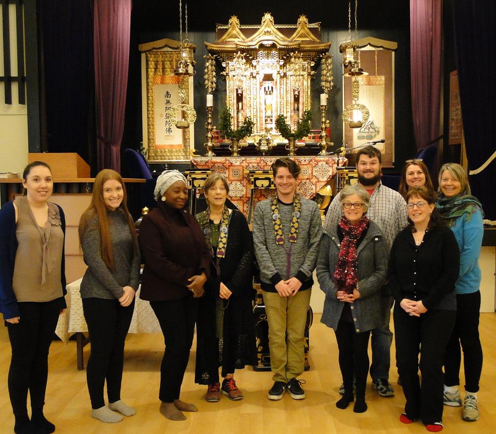 Students visit MB Buddhist Temple