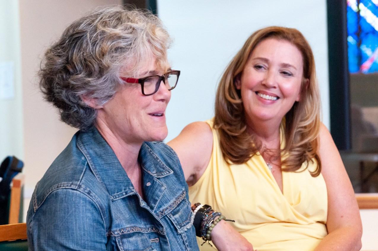 CCS student Barb and grad Beth
