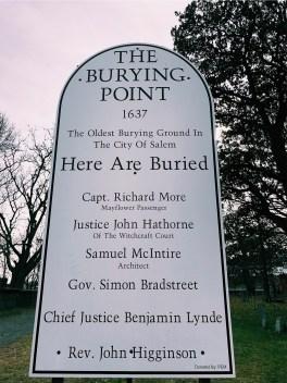 Burying Point