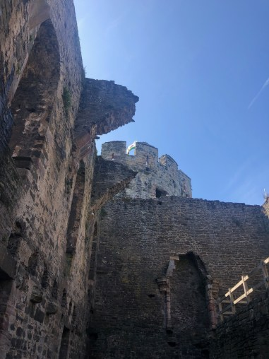 conwy castle walls