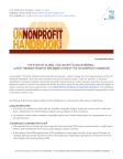 [News Release] The State of Global Civil Society & Volunteering – Latest Findings from the Implementation of the UN Nonprofit Handbook (2013)