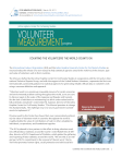 [News Release] Counting the Volunteers the World Counts On (2011)