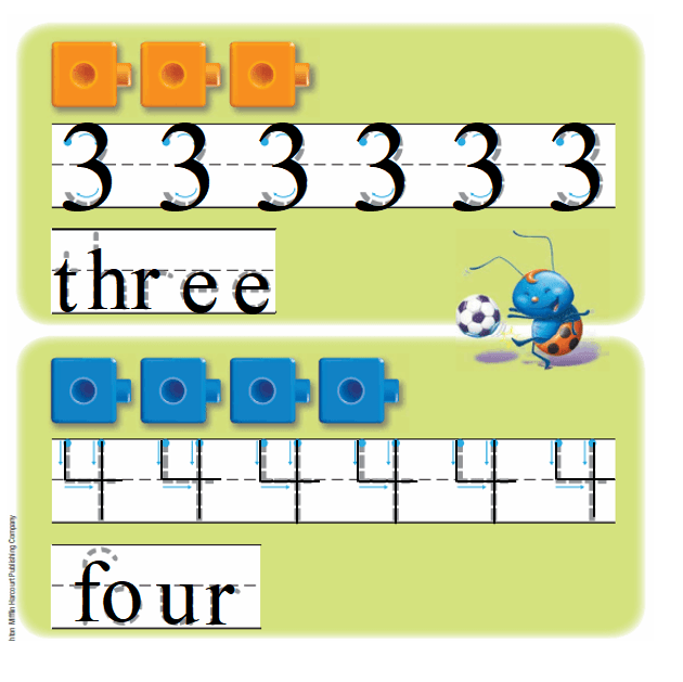 Go-Math-Grade-K-Chapter-1-Answer-Key-Represent-Count,-and-Write-Numbers-0-to-5-Lesson 1.4 Count and Write 3 and 4-Listen and Draw