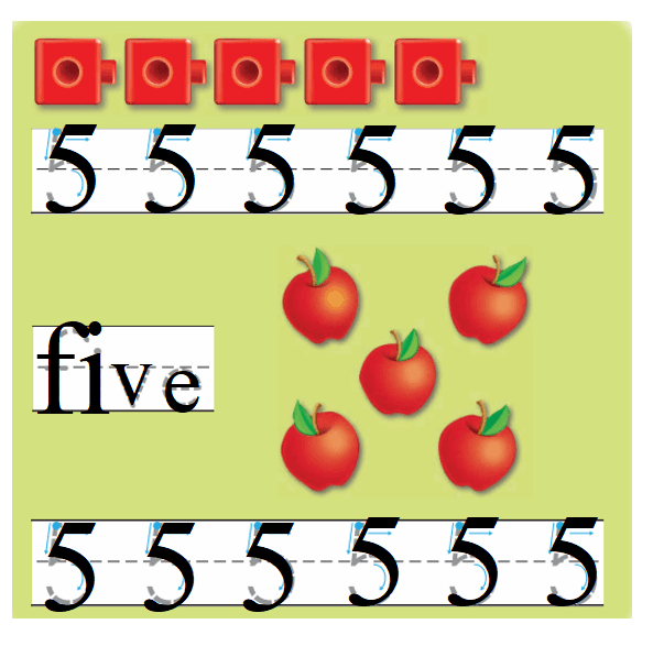 Go-Math-Grade-K-Chapter-1-Answer-Key-Represent-Count-and-Write-Numbers-0-to-5-Lesson 1.6 Count and Write to 5-Listen and Draw