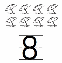 Go-Math-Grade-K-Chapter-3-Answer-Key-Represent-Count-and-Write-Numbers-6-to-9-Count-and-Write-to-8-Homework-practice-3.6-Question-5