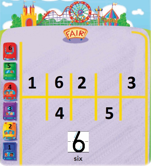 Go-Math-Grade-K-Chapter-3-Answer-Key-Represent-Count-and-Write-Numbers-6-to-9-Lesson-3.1-Model-and-Count-6-Share-and-Show-Question-1