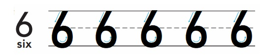 Go-Math-Grade-K-Chapter-3-Answer-Key-Represent-Count-and-Write-Numbers-6-to-9-Lesson-3.2-Count-and-Write-to-6-Share-and-Show-Question-2