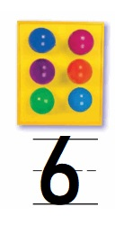 Go-Math-Grade-K-Chapter-3-Answer-Key-Represent-Count-and-Write-Numbers-6-to-9-Lesson-3.2-Count-and-Write-to-6-Share-and-Show-Question-4