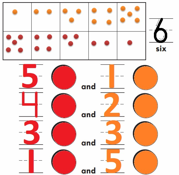 Go-Math-Grade-K-Chapter-3-Answer-Key-Represent-Count-and-Write-Numbers-6-to-9-Model-and-Count-6-Homework-&-practice-3.1-Question-1