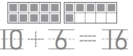 Go-Math-Grade-K-Chapter-7-Answer-Key-Represent-Count-and-Write-11-to-19-Count-and-Write-16-and-17-Homework-&-Practice-7.8-Lesson-Check-Question-1