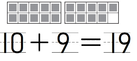 Go-Math-Grade-K-Chapter-7-Answer-Key-Represent-Count-and-Write-11-to-19-Count-and-Write-18-and-19-Homework-&-Practice-7.10-Lesson-Check-Question-1