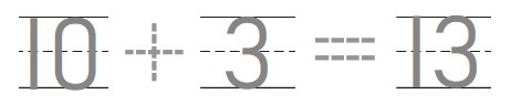 Go-Math-Grade-K-Chapter-7-Answer-Key-Represent-Count-and-Write-11-to-19-Lesson-7.4-Count-and-Write-13-and-14-Share-Show-Question-3