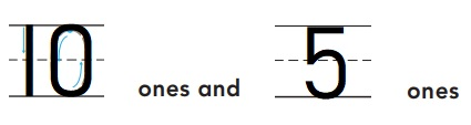 Go-Math-Grade-K-Chapter-7-Answer-Key-Represent-Count-and-Write-11-to-19-Lesson-7.5-Model-Count-and-Write-15-Share-Show-Question-3