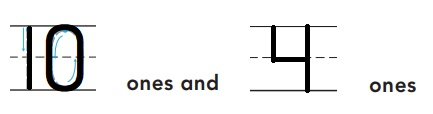 Go-Math-Grade-K-Chapter-7-Answer-Key-Represent-Count-and-Write-11-to-19-Model-and-Count-13-and-14-Homework-&-Practice-7.3-Question-3