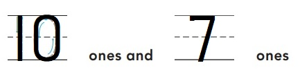 Go-Math-Grade-K-Chapter-7-Answer-Key-Represent-Count-and-Write-11-to-19-Model-and-Count-16-and-17-Homework-&-Practice-7.7-Question-3