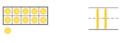 Go-Math-Grade-K-Chapter-7-Answer-Key-Represent-Count-and-Write-11-to-19-Represent-Count-and-Write-11-to-19-Review-Test-Question-1