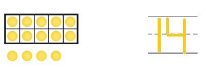 Go-Math-Grade-K-Chapter-7-Answer-Key-Represent-Count-and-Write-11-to-19-Represent-Count-and-Write-11-to-19-Review-Test-Question-2