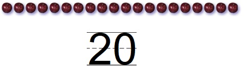 Go-Math-Grade-K-Chapter-8-Answer-Key-Represent,-Count,-and-Write-20-and-Beyond-Lesson-8.1-Model-and-Count-20-Share-Show-Question-5