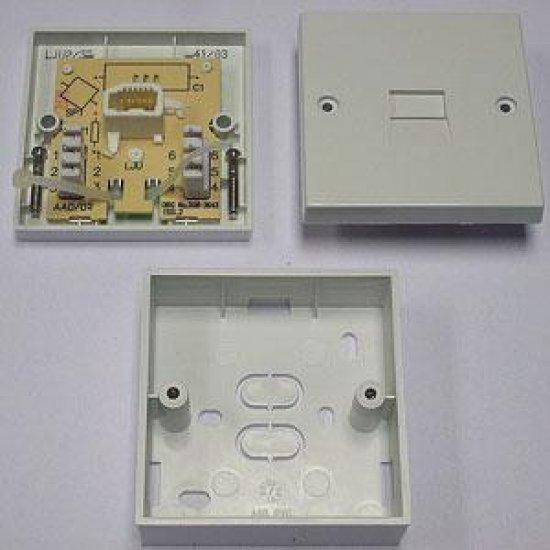 Lju 4 3a Telephone Secondary Extension Sockettelephone Wiring