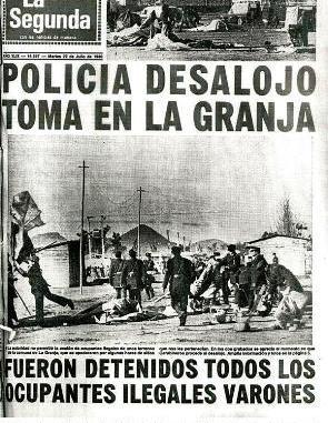 La Toma 22 de Julio de «La Bandera» de Santiago. – Correo de los ...