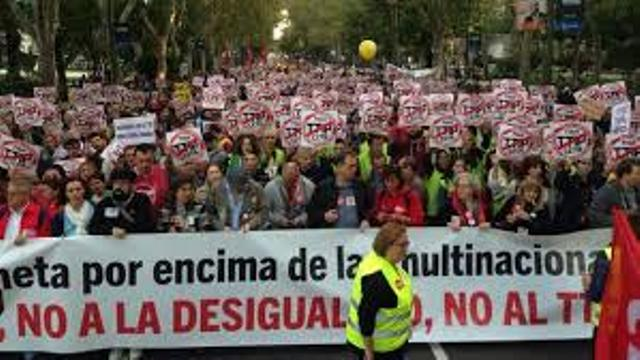 Marcha contra TTP