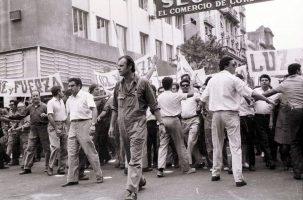 Marcha del Sindicato Luz y Fuerza Cördoba