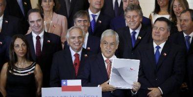 Gabinete Piñera 2018