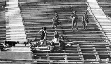 detenidas en el estadio
