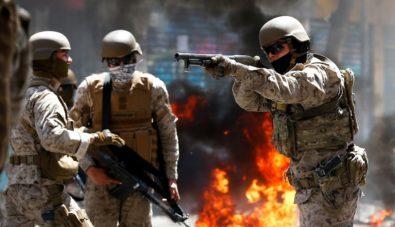 Resultado de imagen para chile militares impunes