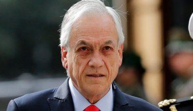 Piñera demacrado
