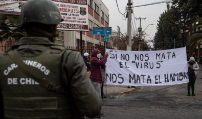 Chile protesta 20MAY