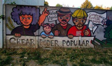 Mural Poder Popular