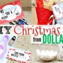 5 Diy Dollar Tree Christmas Gifts People Will Actually
