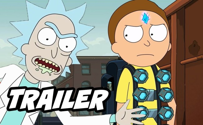 Rick And Morty Season 4 Trailer New Scenes And Easter