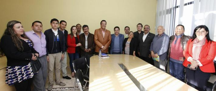 Reunión Cámara de Comercio con Jimmy Jairala