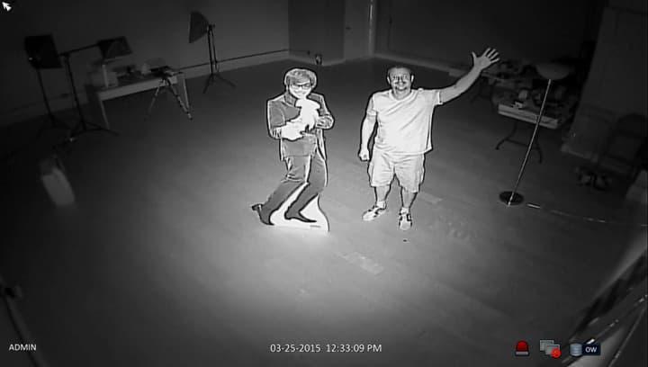 Outdoor Infrared Surveillance Camera