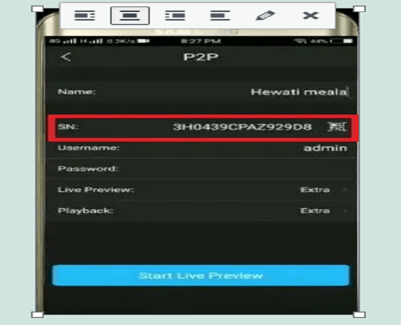 how to configure cp plus DVR remotely 7