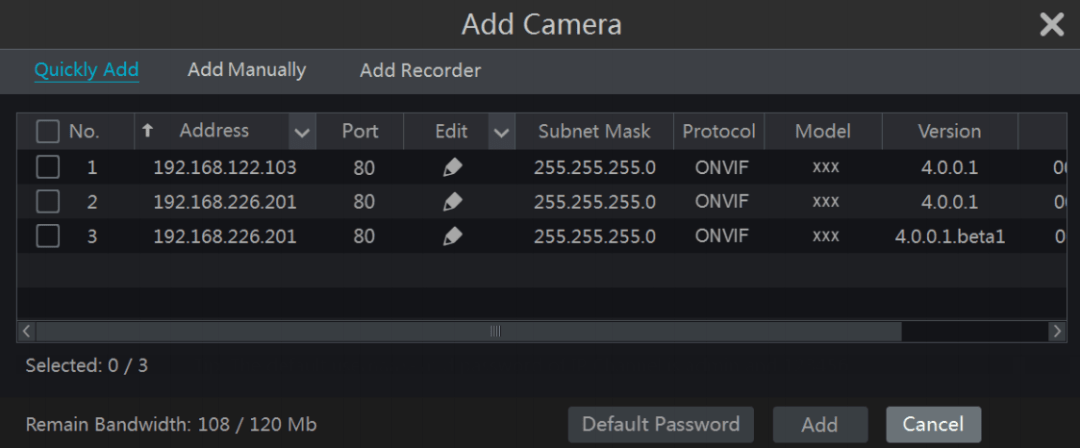 how to connect TVT IP camera
