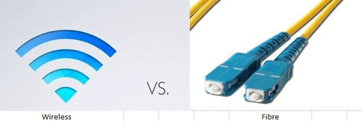 fiber vs wireless comparison