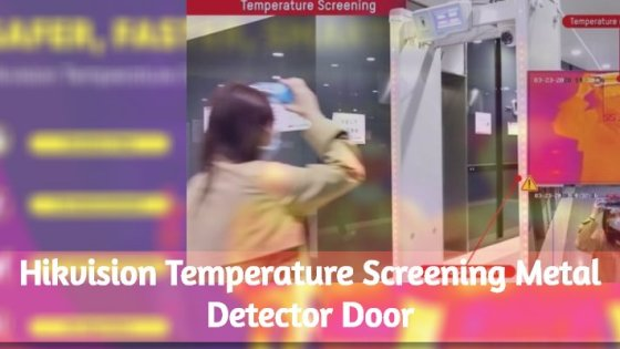 Temperature Screening Metal Detector