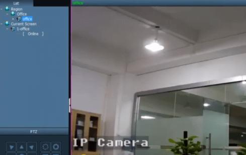 Live view of cameras