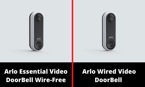 Types of Arlo Doorbell