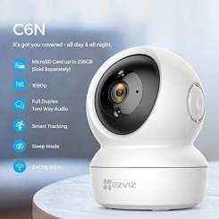 EZVIZ HikVision C6N Wireless Full HD 360 Degree View Pan/Tilt Indoor Home Camera