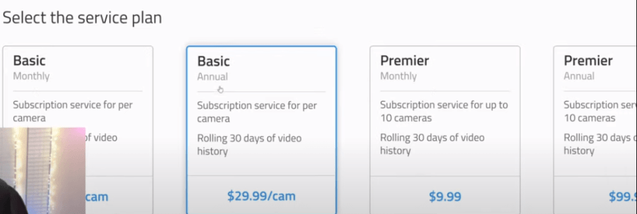 Subscription plans for recording videos