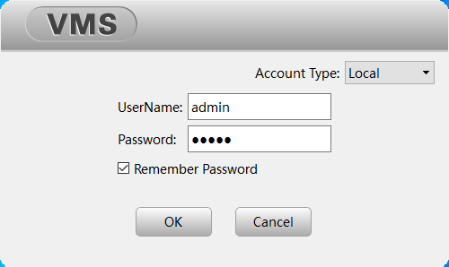 Logging in to the CMS