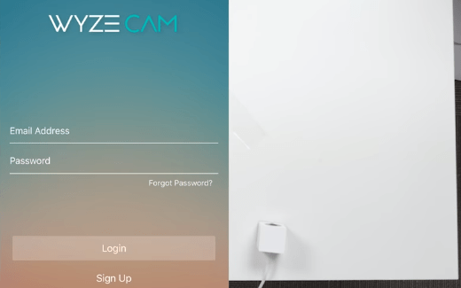 Create an account and login with it
