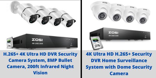 POE Security Camera Kit