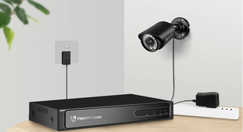 HM245 DVR Surveillance Camera Setup