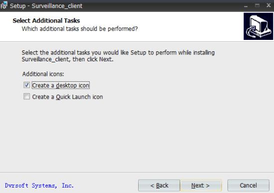 Create a desktop icon.
